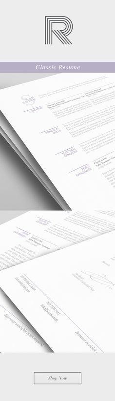 20 best Elegant Resume Templates images on Pinterest | Resume ...