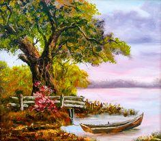 Oak Tree, Bingo, Acrylics, Sculpture Art, The Row, Boat, Culture, Landscape, Nice