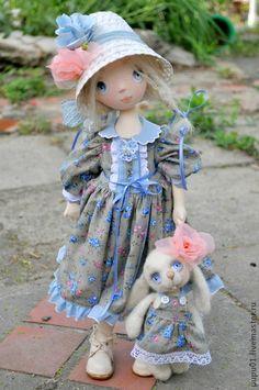 Коллекционные куклы ручной работы. Ярмарка Мастеров - ручная работа По мотивам куклы Любочка. Handmade.