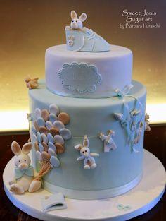 Edoardo's Christening cake