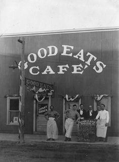 Good Eats Cafe in Denver, Colorado, c. 1915 - History Colorado Collection