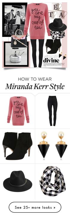 """My Cup of Tea"" by stacinelsoncole on Polyvore featuring Kerr®, Dolce&Gabbana, Markus Lupfer, Kate Spade, BeckSöndergaard and Vita Fede"