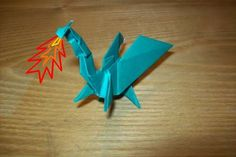 best details on how to fold the dragon