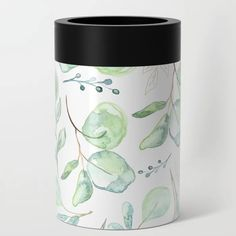 Euculyptus Pattern Can Cooler Canning, Lifestyle, Artwork, Pattern, Outdoor, Outdoors, Work Of Art, Auguste Rodin Artwork, Home Canning