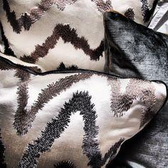 Pulp Custom Neutral Metallic Pillow Collection