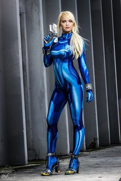 Character: Samus Aran (Zero Suit) / From: Nintendo's 'Metroid: Zero Mission' / Cosplayer: Danielle DeNicola (aka Ellei Marie) / Photo: Piro's Photography (2017)