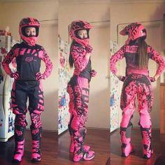 Motocross Clothing, Motocross Girls, Motocross Gear, Girl Dirtbike, Atv Gear, Dirt Bike Gear, Atv Riding Gear, Triumph Motorcycles, Motorbikes Women