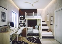 Ideas of Loft Beds for Girls - http://decor.margotrobbieonline.net/ideas-of-loft-beds-for-girls/ : #Furniture Loft beds for girls – A teenager's bedroom is a place to hang out with friends, working on homework or just watching a little TV at the end of the day. Loft beds free up space on the floor to create space and work space sitting even in the smaller rooms. The beds raise the sleeping...