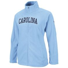 North Carolina Tar Heels Women's Carolina Blue Snowflake Polar Fleece Full Zip Jacket Carolina Pride, Carolina Blue, North Carolina, Unc Apparel, Sports Apparel, Unc Gear, Unc Tarheels, Tar Heels, Polar Fleece