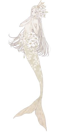 Mermaid Artwork, Mermaid Drawings, Fantasy Creatures, Mythical Creatures, Anime Mermaid, Cute Art Styles, Mermaids And Mermen, Character Design Inspiration, Anime Art Girl