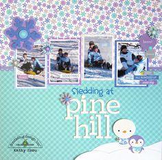*** Doodlebug Design *** Sledding at Pine Hill - Scrapbook.com