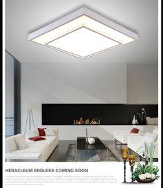 moderno e minimalista lampada da soffitto a LED salone rettangolare da pranzo con lo studio lampada camera da letto matrimoniale atmosfera creativa calda: EURO 268,58
