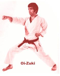 Oi-zuki - Lunge Punch (Oie Tsuki)