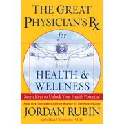 In The Great Physician's Rx for Health Wellness, Jordan Rubin now offers seven keys to unlocking your health potential along with a 50-day health plan. Author of the bestseller The Maker's Diet and survivor of a debilitating disease, Jordan shares with readers the keys that brought him total recovery that are for anyone desiring to live an abundant life of health and wellness.
