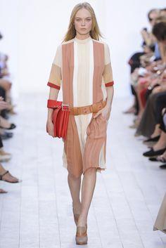 Chloé Spring 2012 Ready-to-Wear Fashion Show - Siri Tollerød