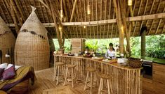 There's Some Unique Homes In The Jungles Of Bali. Can You Guess What They Are Built Of?,,GVV4-13-kitchen-riohelmi