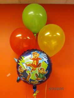 Alvin & The Chipmunk theme birthday party!
