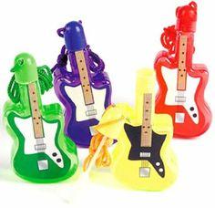 Amazon.com : Guitar Shaped Bubble Bottle Necklaces (1 dz) : Bubble Blowing Products : Toys & Games