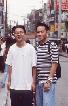 South Korea Street Style: 18 Forgotten Trends All Koreans Were Obsessed With ~ vintage everyday Korea Fashion, Asian Fashion, 90s Fashion, Retro Fashion, Vintage Fashion, Fashion Outfits, Korea Street Style, Tokyo Street Style, Korean Street