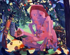 Dana Schutz -| Portrait of the Artist as a Paint-Splattered Googler