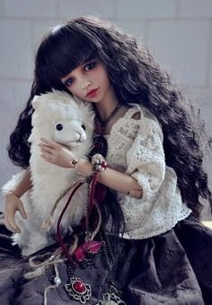 I know I must be crazy, but she's the only doll that felt like she has a real soul inside her. I've never been interested in dolls like this ever, but I just feel a pull to get her somehow.