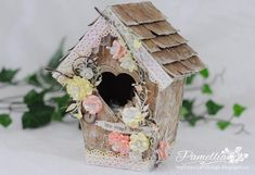 My Little Craft Things: Home Sweet Home - My Summer Garden Birdhouse