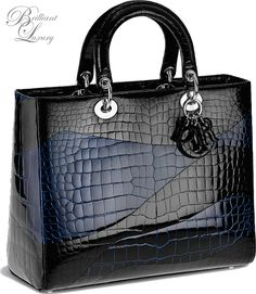 Dior 'Lady Bag' Fall + Feel the satisfaction of shopping! With a spectacular collection of women's outfits, you're guaranteed to score on chic pieces for comfy casual looks, elegant formal ensembles and everything in between. Dior Handbags, Fashion Handbags, Purses And Handbags, Fashion Bags, Leather Handbags, Sac Lady Dior, Sac Week End, Luxury Bags, Handbag Accessories