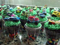 Hot Wheels Cupcakes