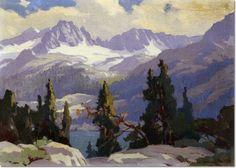 marion wachtel painting for sale | ... Art Artist Paintings Prints by Marion Kavanagh Wachtel - Sierra Scene