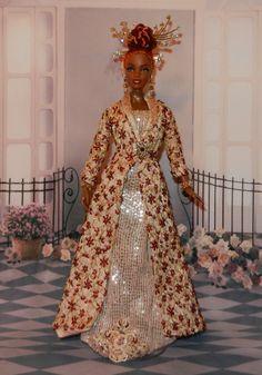 Miss Senegal 2008 NiniMomo OOAK Barbie