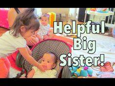 HELPFUL BIG SISTER! - September 12, 2014 - itsJudysLife Daily Vlog