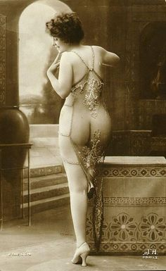 Vintage French postcard.