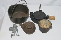 Collection of Antique Salesman samples of kitchen wear