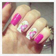 Pink/White flower