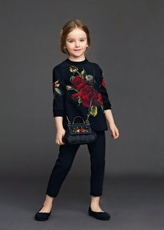 Мода для самых маленьких от Dolche&Gabbana: 50 прелестных нарядов из коллекции зима 2016 - Ярмарка Мастеров - ручная работа, handmade