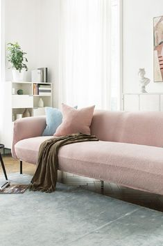 Fitted spandex sofa slipcover in Pink Sofa Throw, Sofa Covers, Kitchen Accessories, Slipcovers, Window Treatments, Couch, Curtains, Spandex, Pink