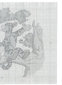 Winnie the Pooh_Tall Stories - 3/4 Solo Patrones Punto Cruz | Aprender manualidades es facilisimo.com