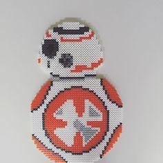 BB-8 Star Wars VII perler beads by imayfair