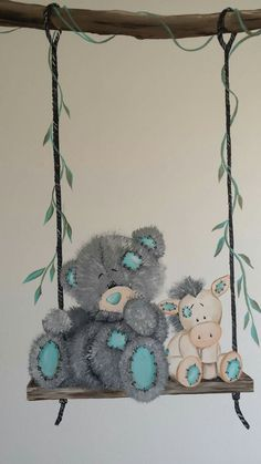 Teddy Bear Images, Teddy Bear Pictures, Baby Room Design, Baby Room Decor, Cute Cat Wallpaper, Baby Painting, Cute Teddy Bears, Tatty Teddy, Design Blog