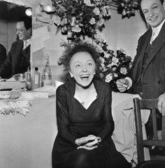 Legendary French singer Edith Piaf