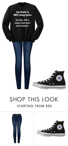 """""""Untitled #208"""" by cruciangyul on Polyvore featuring 2LUV and Converse"""