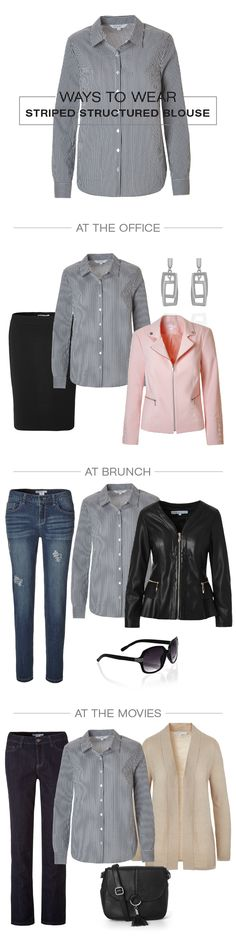 The perfect professional piece that you'll love to wear! Extend your look and layer under a cozy sweater for an outfit that lasts all day. Lightweight button up Cozy Sweaters, You Look, Button Up, Foundation, Blouse, How To Wear, Outfits, Style, Fashion