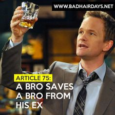 BroCode de How I Met Your Mother por Barney Stinson. Diseño por Maru Ugalde. #HIMYM