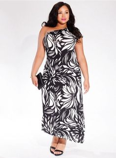02e74788a88 New Women s Blue Caftan Long One Shoulder Maxi Dress Plus Size 3X 4X 18 20  22 24