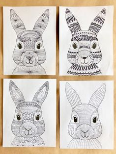 Funky easter bunnies wonderbar best adorable easter crafts for kids Spring Art Projects, School Art Projects, Spring Crafts, Easter Art, Easter Crafts For Kids, Easter Decor, Easter Eggs, Art 2nd Grade, 2nd Grade Crafts