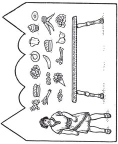 I used this craft with the story of King Nebuchadnezzar