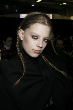 Backstage Beauty: New York Fashion Week Fall 2014 - Marc by Marc Jacobs Fall 2014