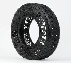 A work of art!!! recycling tires forever!