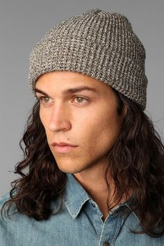 Essential thermal beanie. Yeah, I'd wear this...even though it's for guys...