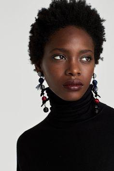 Art Black Love, My Black Is Beautiful, Black Women Art, Natural Hair Care, Natural Hair Styles, Au Natural, Art Pulp, Makeup Black, Art Afro